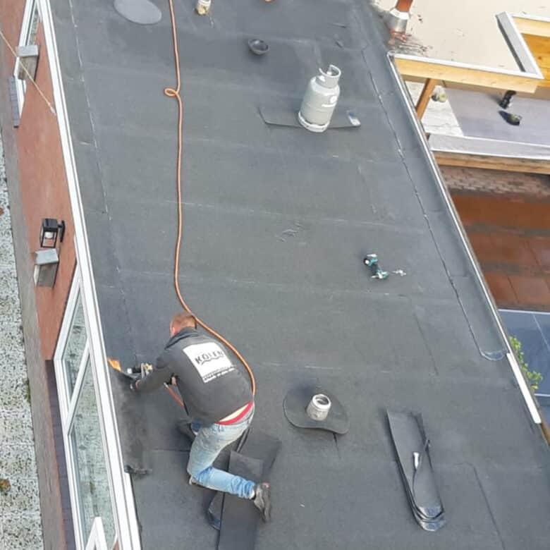 reparatie plat dak